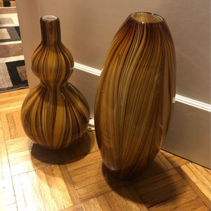 Two vases for flowers for Sale in San Francisco, CA