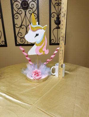 Centros de mesa para cumpleaños unicornio diferentes estilos for Sale in Houston, TX