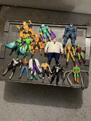 Vintage 90's Spider-Man toy biz action figures for Sale in San Jose, CA