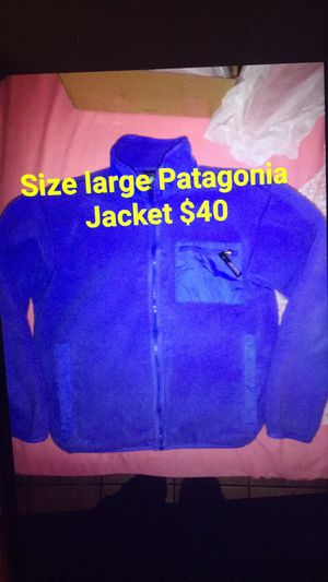 Patagonia jacket for Sale in Cleves, OH