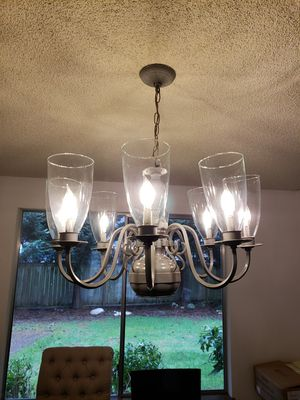 Farmhouse Chandelier for Sale in Puyallup, WA