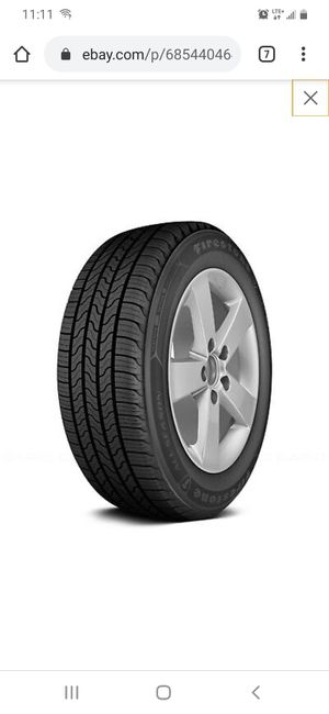 215/65/R16 tires and rims for Sale in Des Moines, IA