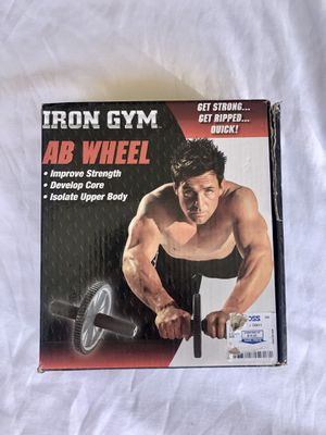 Iron Gym Ab Wheel - Abdominal Fitness Equipment for Sale in Temecula, CA