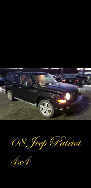 2008 Jeep Patriot 4x4 very low mileage for Sale in Revere, MA