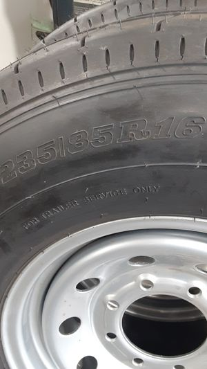 Two new trailer tires 235/85R16 for Sale in Santa Fe Springs, CA