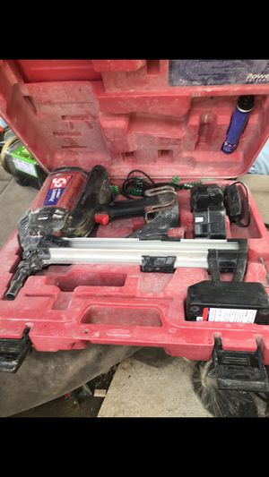 Powers C5 trak-it nail gun plus it comes with a full box of pins for Sale in Columbus, OH