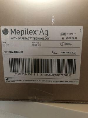 Mepilex AG 8x8 foam bandages for Sale in Quantico, VA
