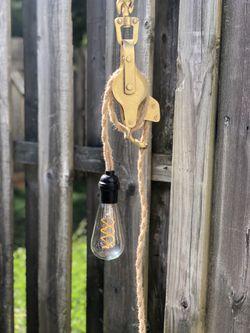 Block & Tackle Hanging Light for Sale in Lorton,  VA