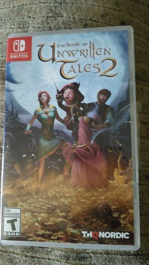 Book of unwritten tales 2 Nintendo Switch for Sale in McKeesport, PA