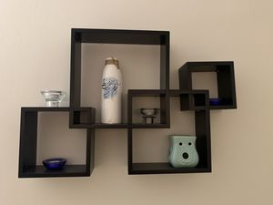 Intersecting cube shelves for Sale in Sterling, VA
