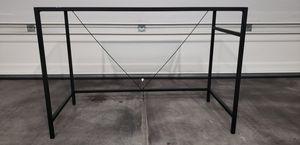 Metal & Glass top Desk/Shelf for Sale in Henderson, NV