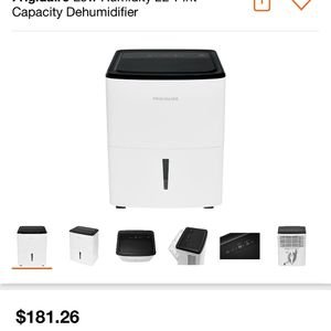 Frigidaire Low Humidity 22-Pint Capacity Dehumidifier for Sale in Los Angeles, CA