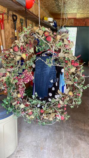 Artificial fruit wreath for Sale in Tomahawk, WI