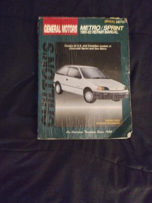 Chilton's repair manual for Sale in Portland, OR