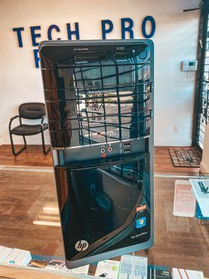 HP Pavilion desktop AMD A4, 6gb RAM, 1TB HDD, ATI Radeon GPU, DVI for Sale in Wilton Manors, FL