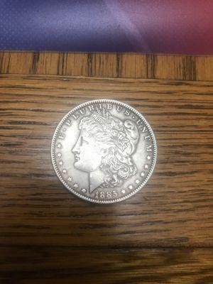 1885 Liberty Head Silver Dollar for Sale in Amarillo, TX