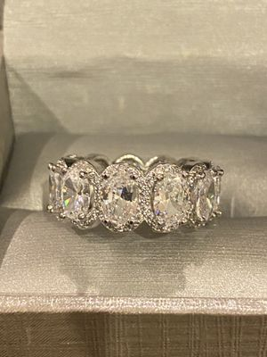 Sterling Silver Engagement/Promise / Wedding Ring for Sale in Houston, TX