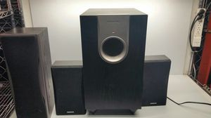 Onkyo SKR 550 Powered Subwoofer with 3 speakers for Sale in Imperial, MO