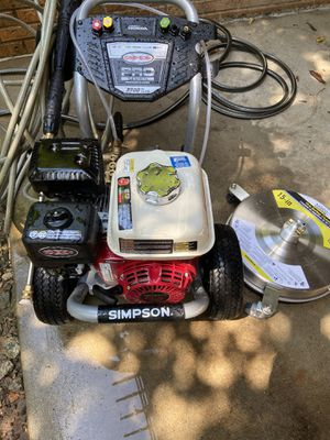 Simpson 3700psi Pressure Washer with Honda Engine for Sale in Atlanta, GA