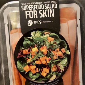Super salad For Skin 7 Piece Face Mask Set for Sale in Tukwila, WA