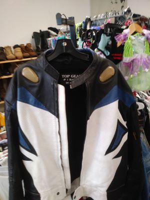 Mens Top Gear Racing Motorcycle Jacket for Sale in Orlando, FL