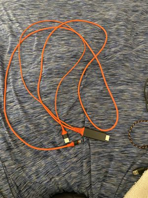 Type c to hdmi cable for Sale in Anaheim, CA