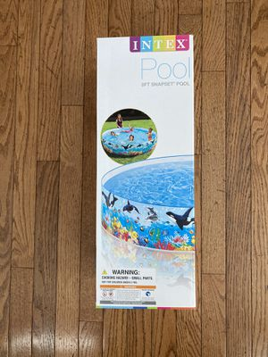 Intex 8ft Snapset Pool for Sale in Manassas, VA