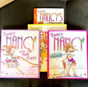 Bundle of Hardcover Fancy Nancy Books for Sale in Dracut, MA