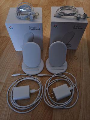 Pair of Pixel Stands including Pixel Bud headphones. for Sale in Mesa, AZ