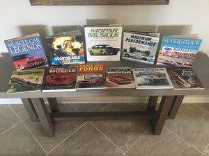 11 Assorted Muscle Car & Drag Racing Books for Sale in Des Plaines, IL