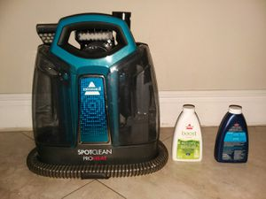 Bisselle spotclean proheat used twice. for Sale in Boca Raton, FL