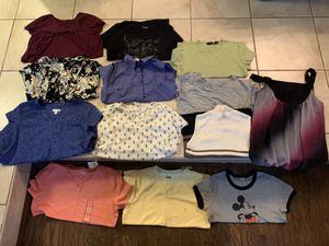 Women's size large shirts for Sale in Davenport, FL