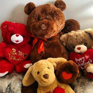 Teddy Bears Vanlentines Gifts for Sale in Indio, CA