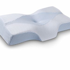 Mkicesky Side Sleeper Contour Memory Foam Pillow, Orthopedic Sleeping Pillow, Ergonomic Cervical Pillow for Neck Pain with Washable Hypoallergenic Pil for Sale in Las Vegas, NV