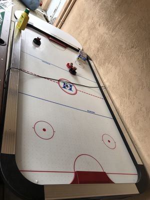 Air hockey table works like new for Sale in Stockton, CA