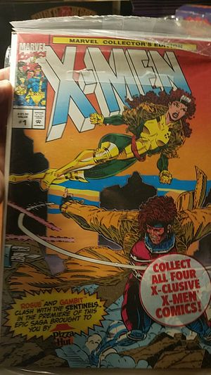 X-Men Pizza Hut exclusive comic books book 1 and 2 still in bags for Sale in East Los Angeles, CA