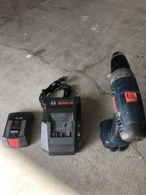 Bosch 18v Cordless Drill for Sale in San Clemente, CA