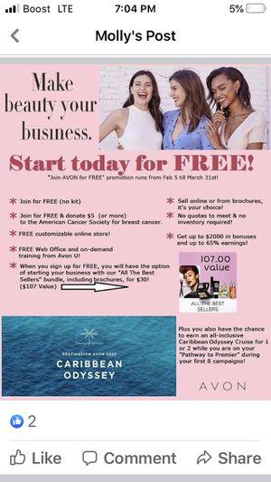 Free to Join Avon/Ajuntase con Avon Gratis for Sale in New York, NY