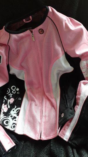 Sexy Joe Rocket armor biker jacket hot pink women's med. Like new for Sale in BELLEAIR BLF, FL