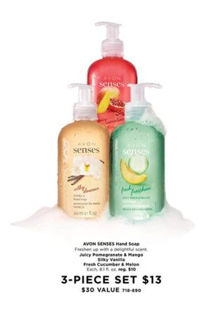 3 avon handsoaps for Sale in Mason City, IA