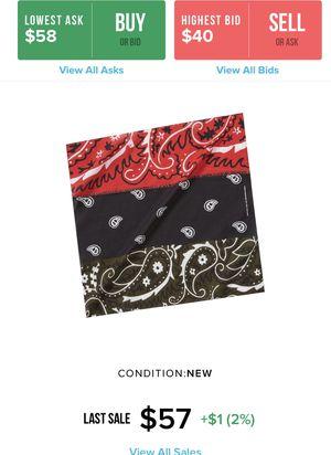 Supreme Dead Prez RBG bandana. New in bag for Sale in Inglewood, CA