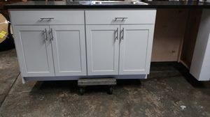 Kitchen counter and sink inset in counter with wescraft garbage disposal new L.93 1\2 W. 26 1/2 for Sale in Holland, PA