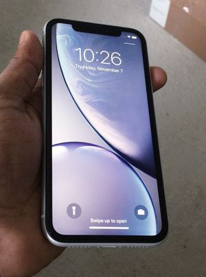 """iPhone XR ,,Factory UNLOCKED Excellent CONDITION """"as like nEW"""" for Sale in Springfield, VA"""