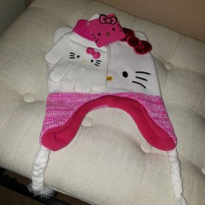 Hello Kitty Beanie And Gloves for Sale in Peoria, AZ