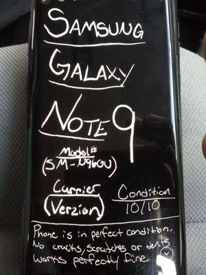 Samsung Galaxy Note 9 for Sale in Salt Lake City, UT
