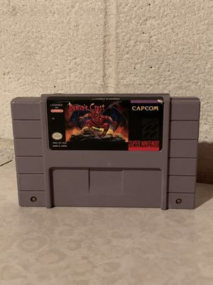 Demon's Crest Super Nintendo SNES Authentic Cartridge Only USA Tested for Sale in Cleveland, OH