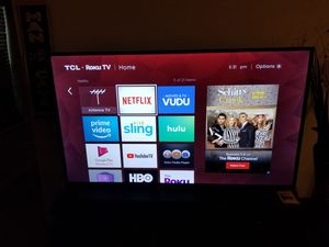 TCL 65inch 4K ROKU TV for Sale in Jacksonville, FL