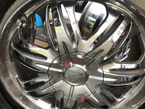 "17"" crome wheels for Sale in Eugene, OR"
