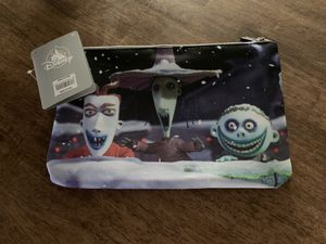 Halloween Nightmare Before Christmas Disney zipper pouch for Sale in Mission Viejo, CA