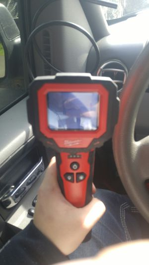 Milwaukee 3ft inspection camera w/ 4 way m12 battery charger for Sale in Tacoma, WA